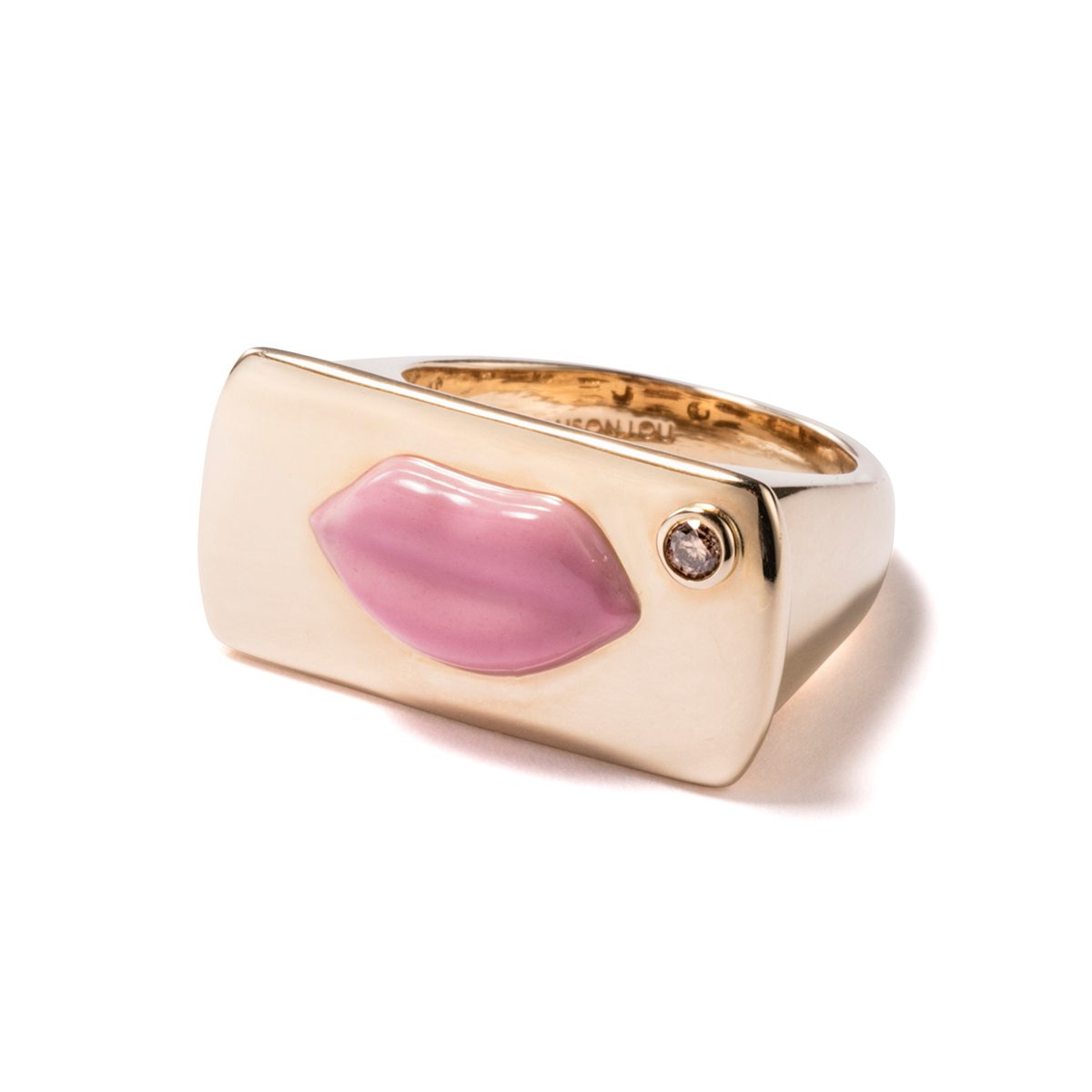 ALISON LOU - Pink Marylin RING|Rings