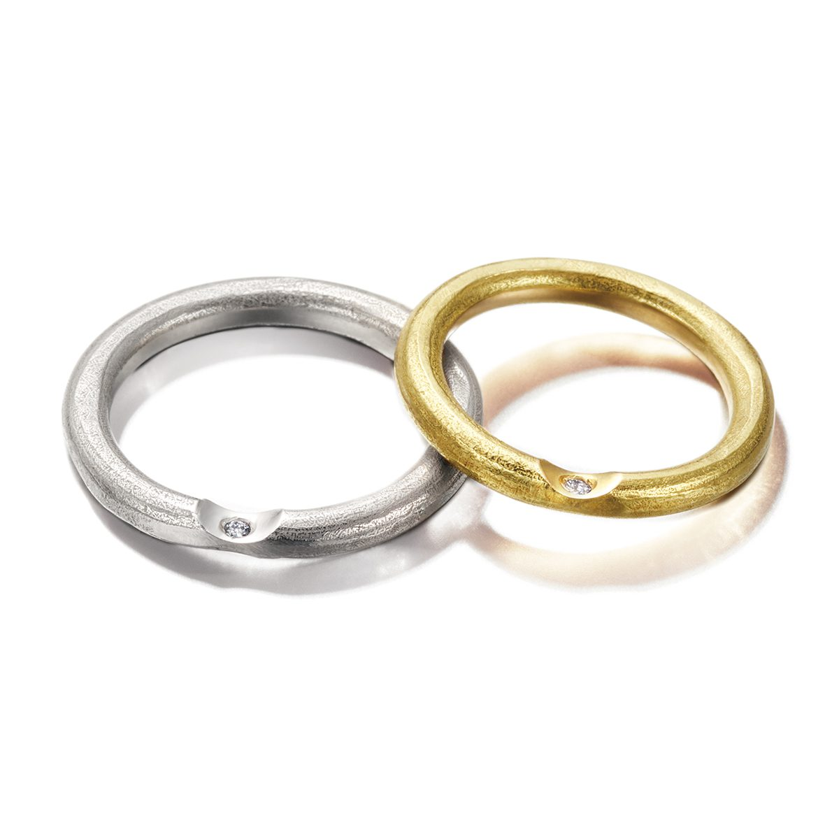 IOSSELLIANI - Abbraccio Marriage Rings