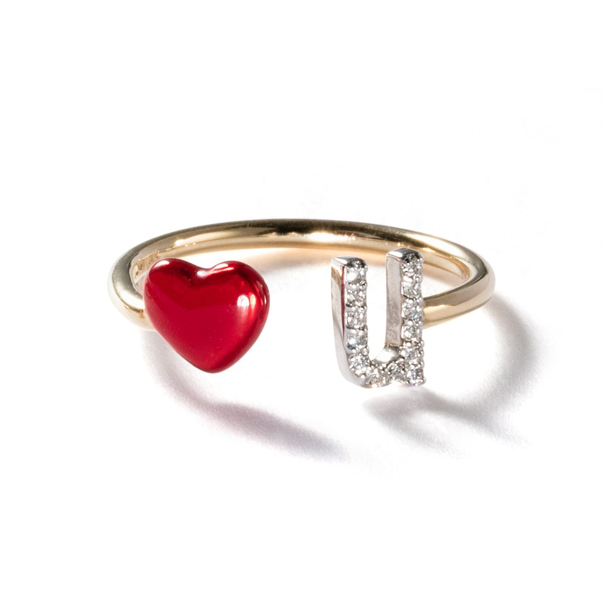 ALISON LOU - LOVE U RING|Rings