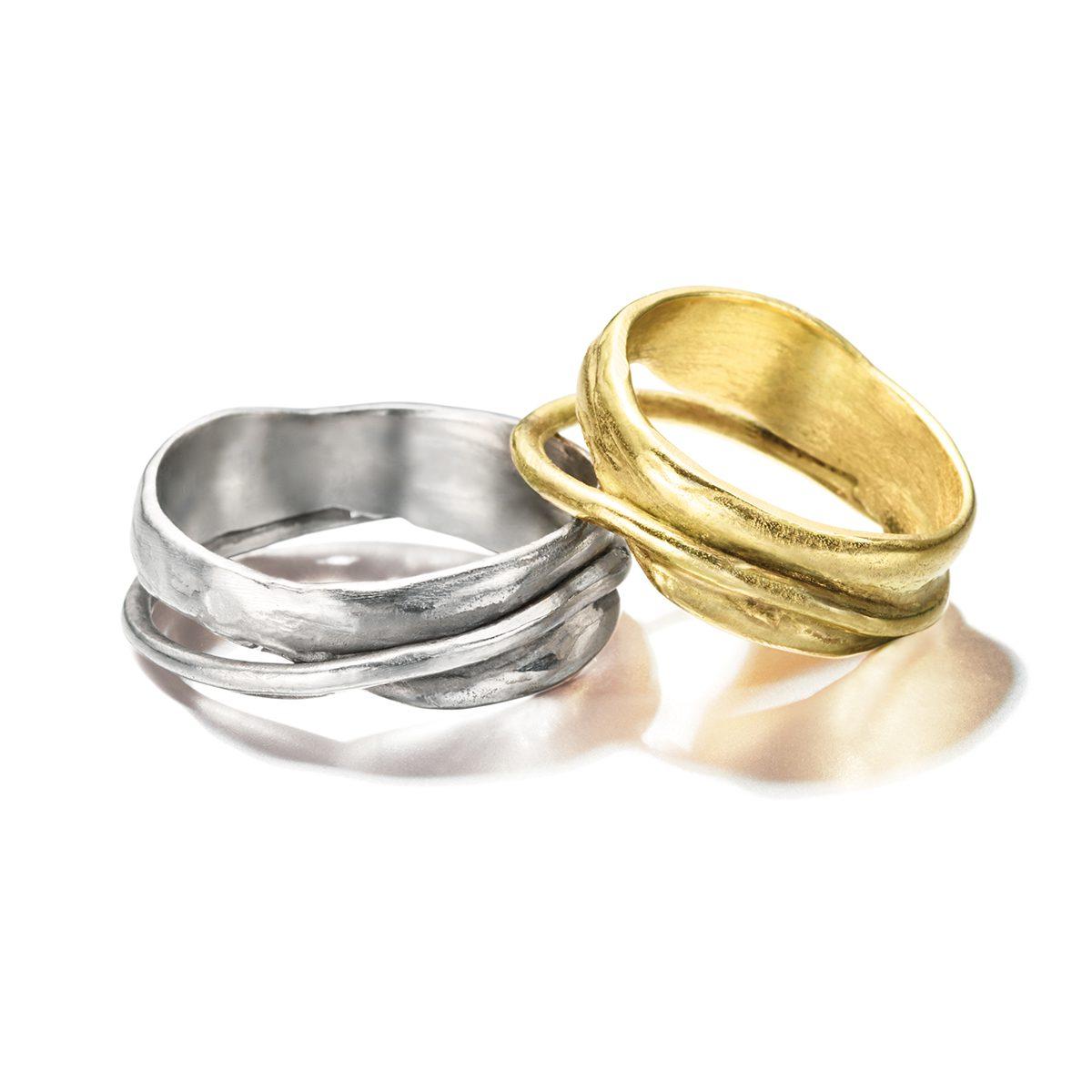 IOSSELLIANI - INCNATO Marriage Rings