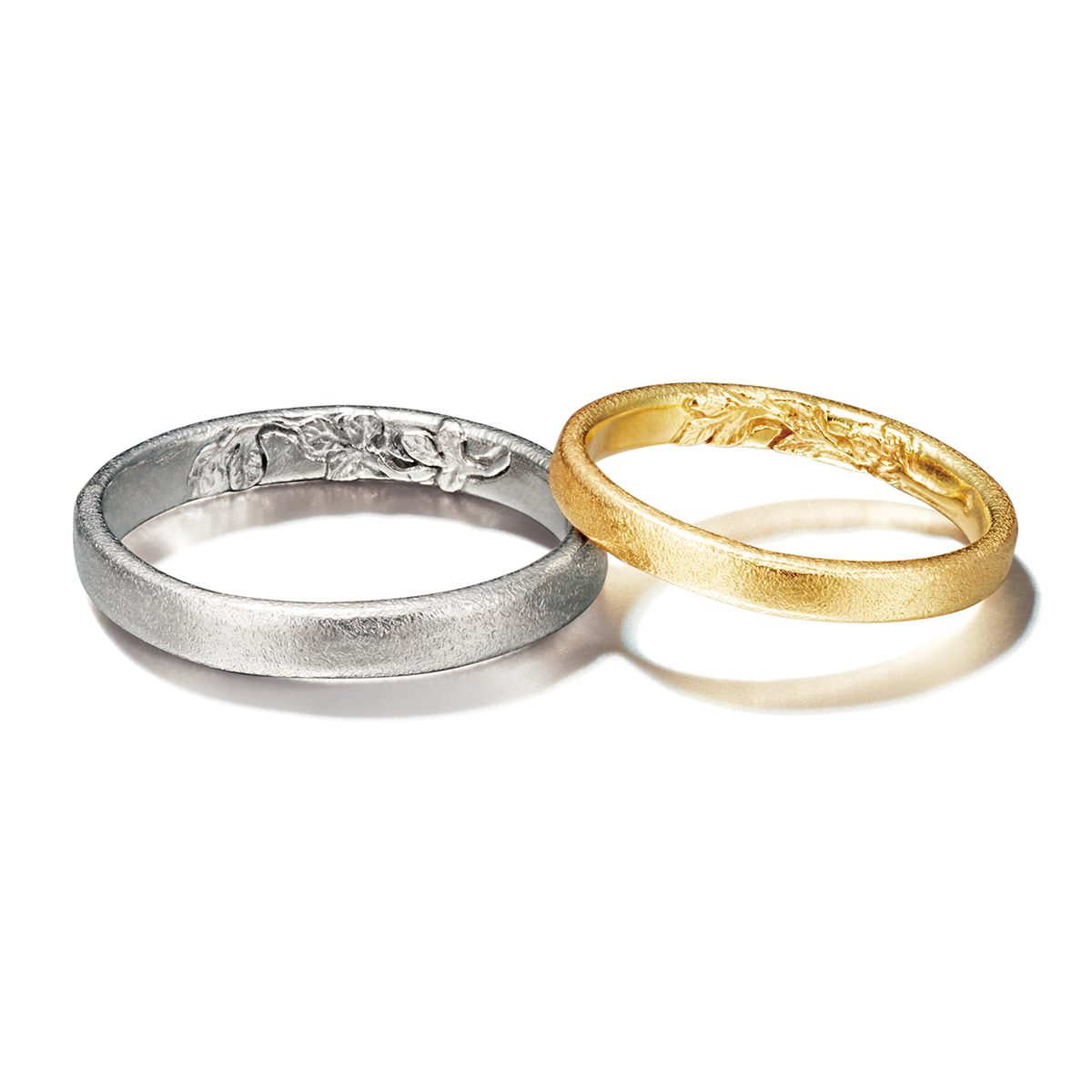 ALEX MONROE - WILD ROSE Wedding Band Marriage Rings