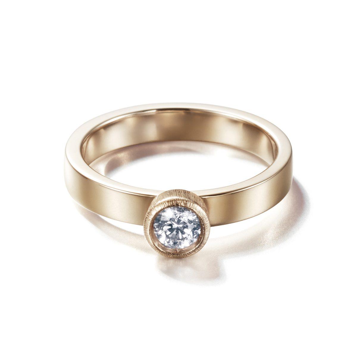 LIA DI GREGORIO TUNNEL|Engagement Rings