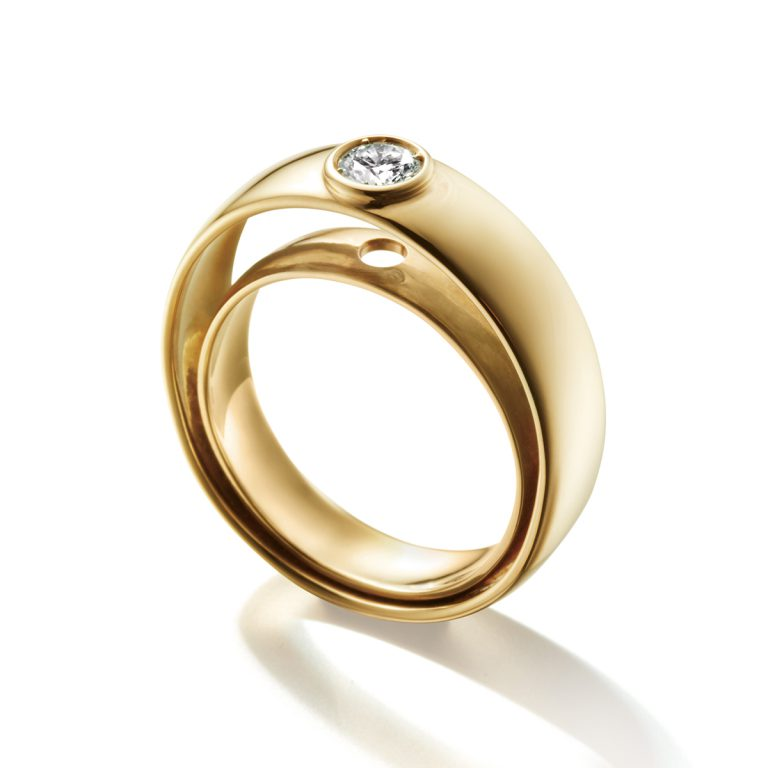 LIA DI GREGORIO SOFT MOVE|Engagement Rings