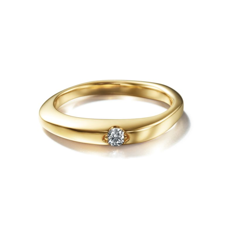 CORINNE HAMAK Floating Diamond ring|Engagement Rings