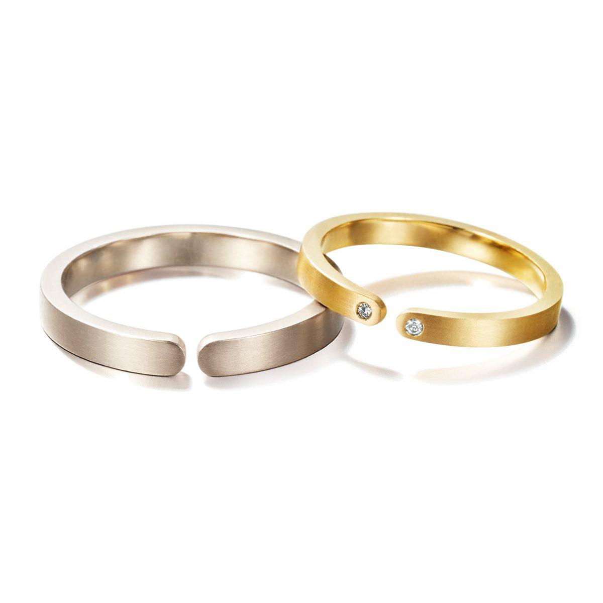 LIA DI GREGORIO - BESIDE Marriage Rings