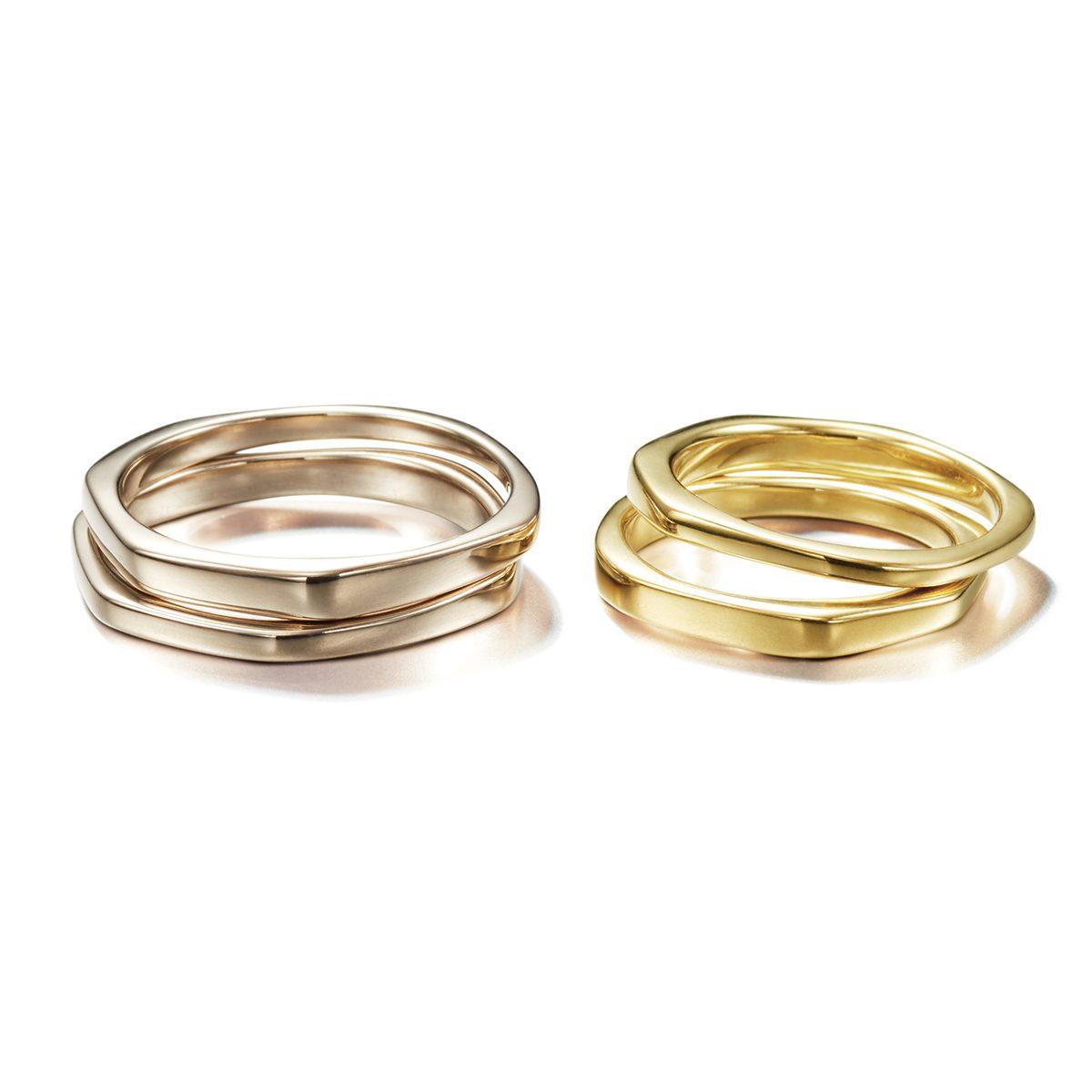 CORINNE HAMAK - Half & Other Half Marriage Rings