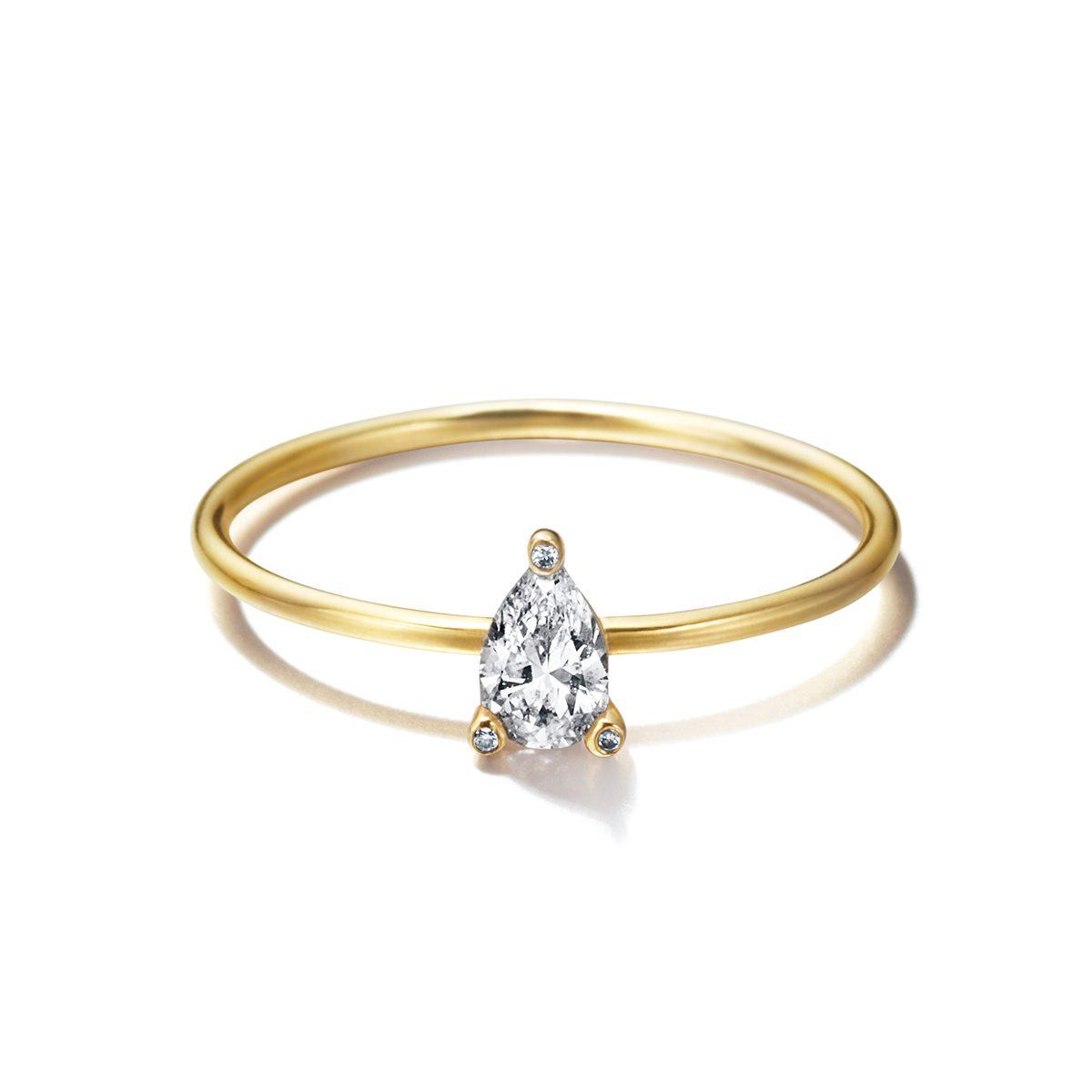 Sweat Pea Pear|Engagement Rings