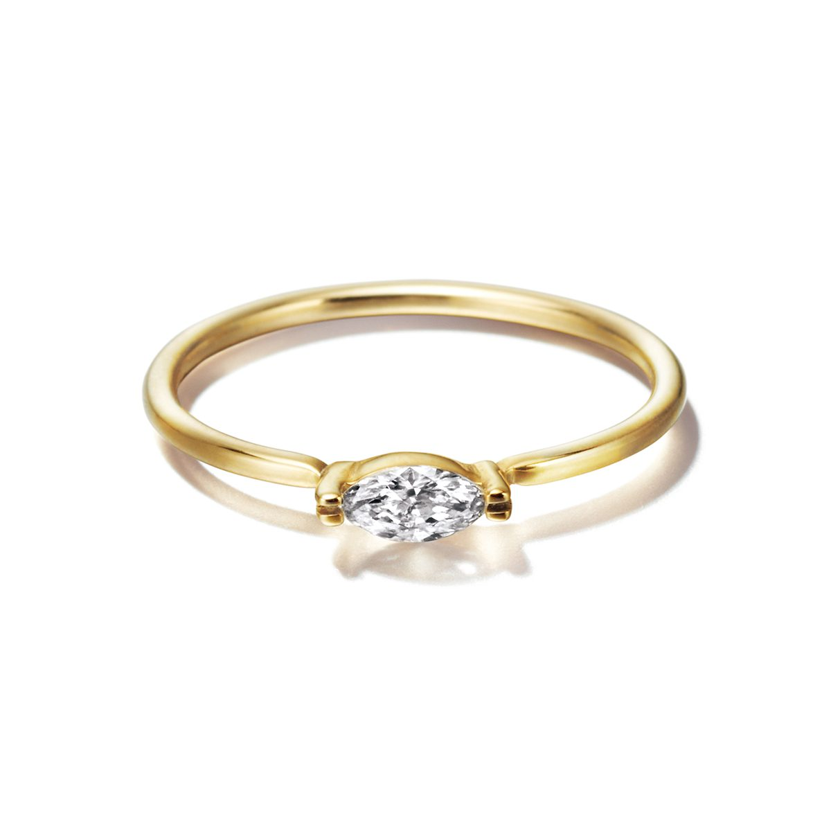 Sweat Pea Marquise|Engagement Rings