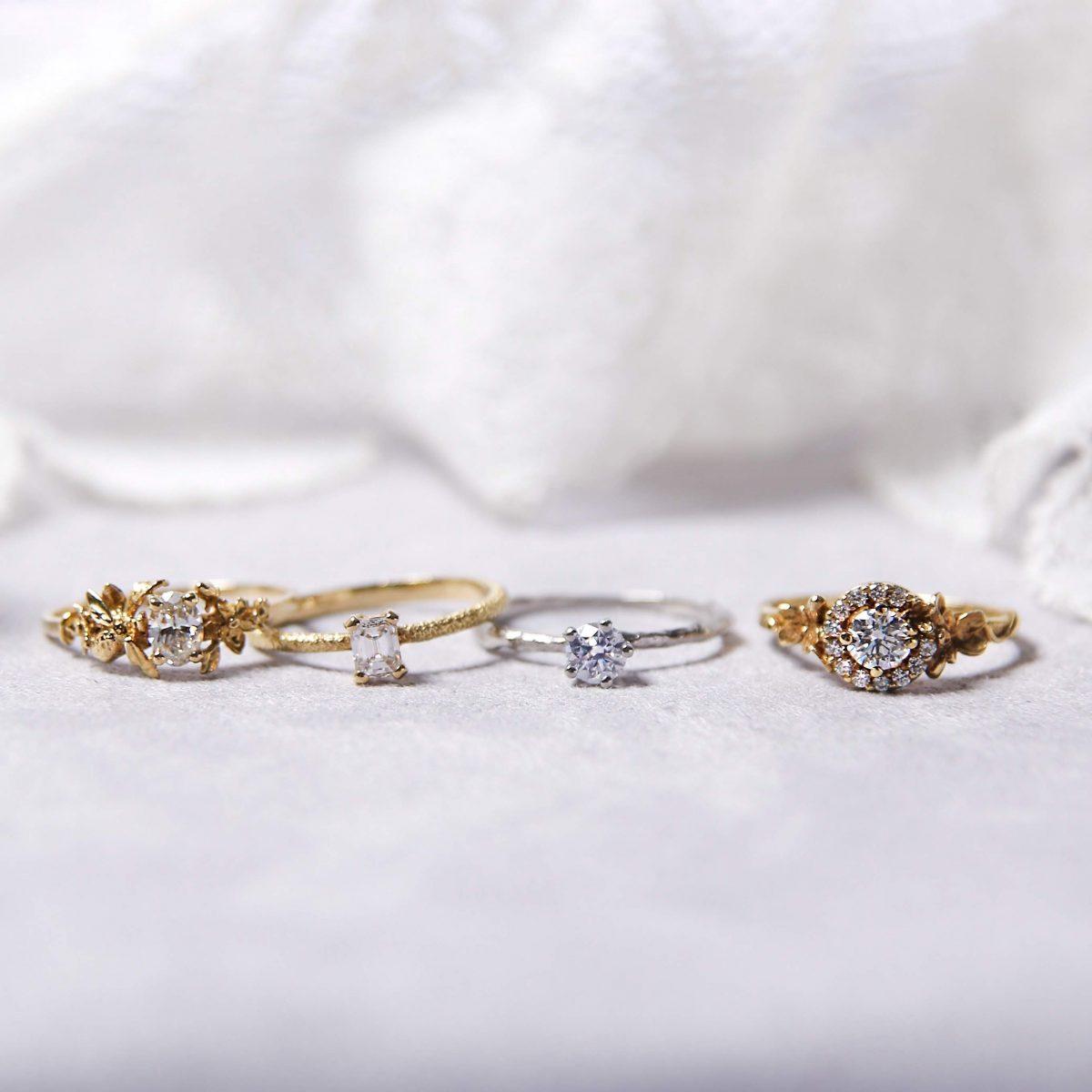 ALEX MONROE アレックスモンロー HPFRANCEBIJOUX HPFRANCE アッシュペー アッシュペービジュー アッシュペーフランスビジュー パートナーシップ ブライダル マリッジ エンゲージ 結婚指輪 婚約指輪