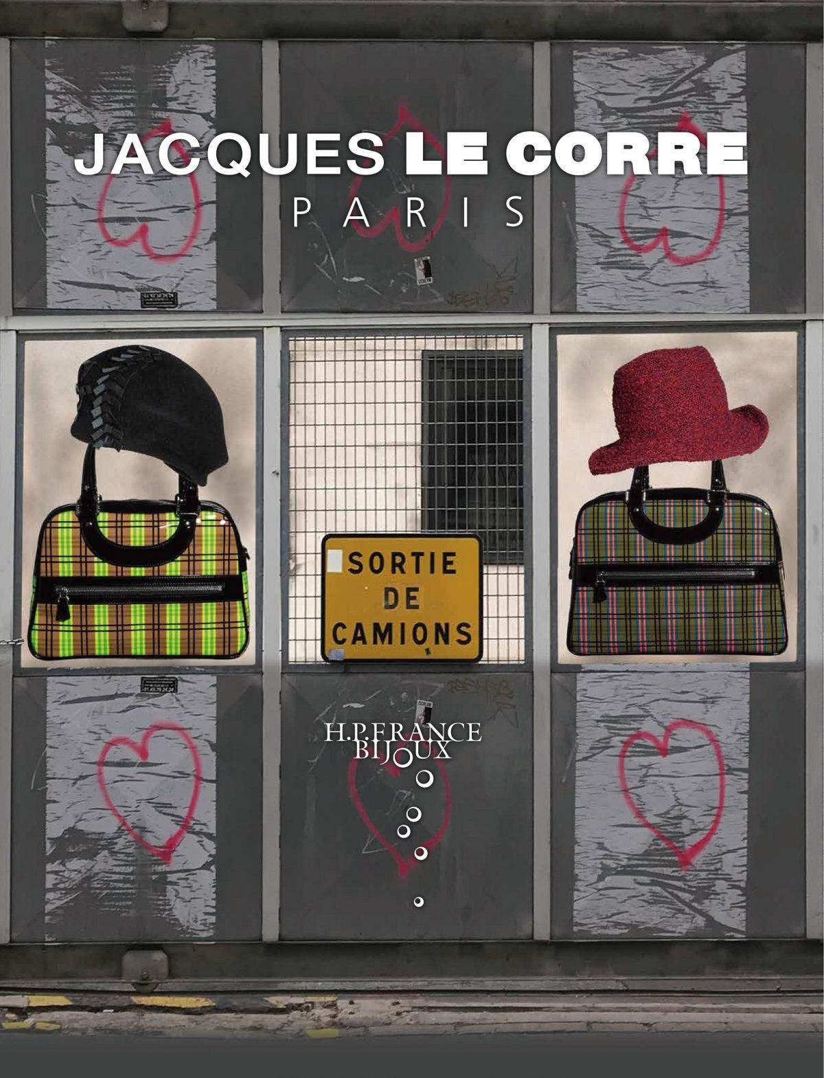 JACQUESLECORRE じゃっくるこー ジャックルコー リスボン 2019AW チェック ブレード 帽子 バッグ トート