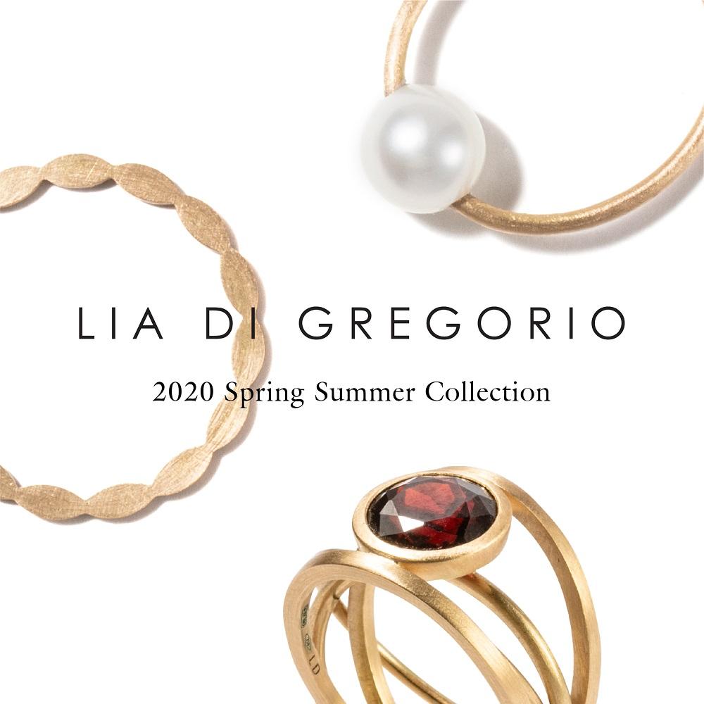 LIA DI GREGORIO リアディグレゴリオ イタリア ミラノジュエリー 2020春夏 新作