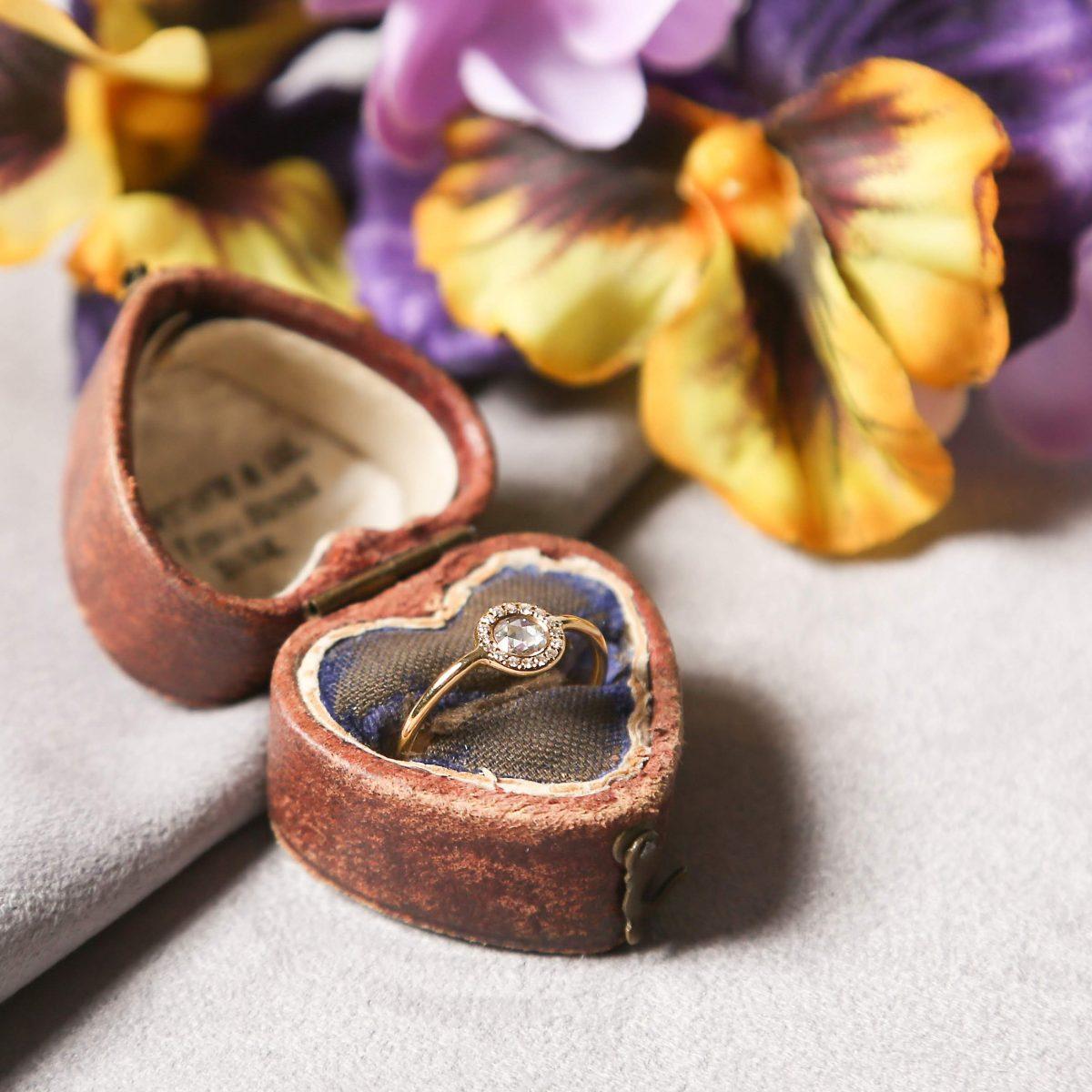 HPFRANCEBIJOUX ブライダル 婚約指輪 アッシュペーフランスビジュー