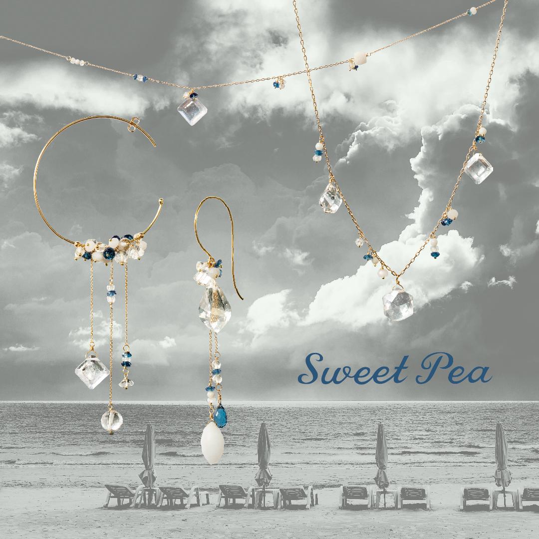 スイートピー SWEET PEA HPFRANCEBIJOUX アッシュペーフランスビジュー 2020夏ジュエリー